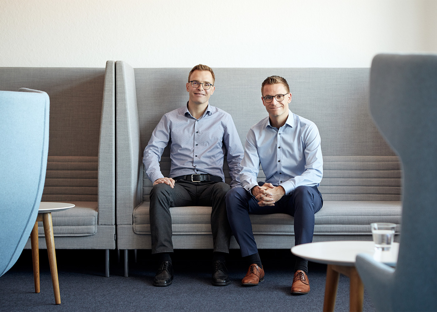 Geschäftsführer Jochen und Klaus Raab   Raab IT Systemhaus – seit 1988 in Gerstetten   designQUARTIER   Foto: Florian Thierer